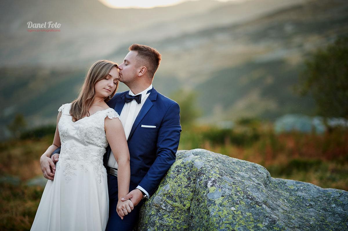 Sesja ślubna w górach, Dolina Pięciu Stawów